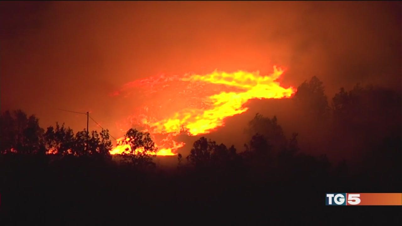 Piemonte e Lombardia è emergenza incendi