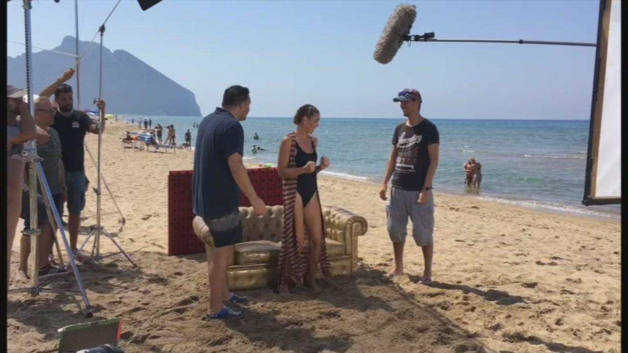 #gfvip: Ilary Blasi carichissima sul set del nuovo promo