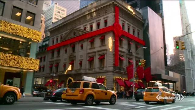 Shopping natalizio a New York