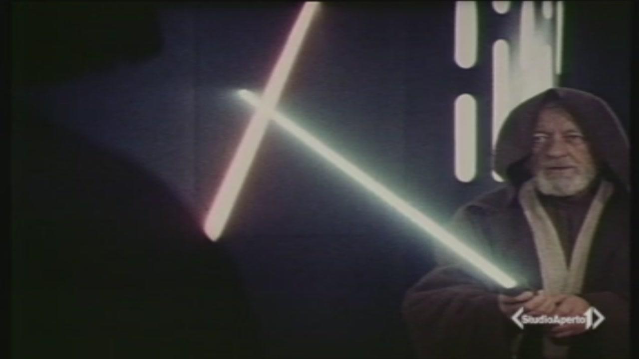 La spada laser di Guerre Stellari