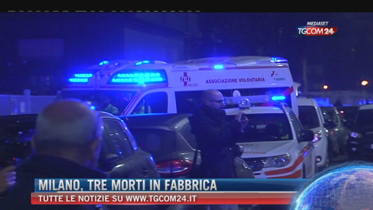 """Breaking News delle ore 09.00: """"Milano, tre morti in fabbrica"""""""