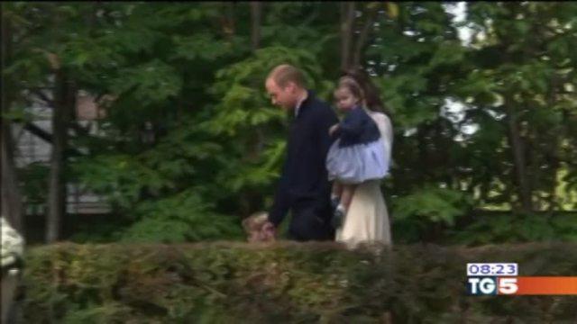 La coppia reale torna a Londra