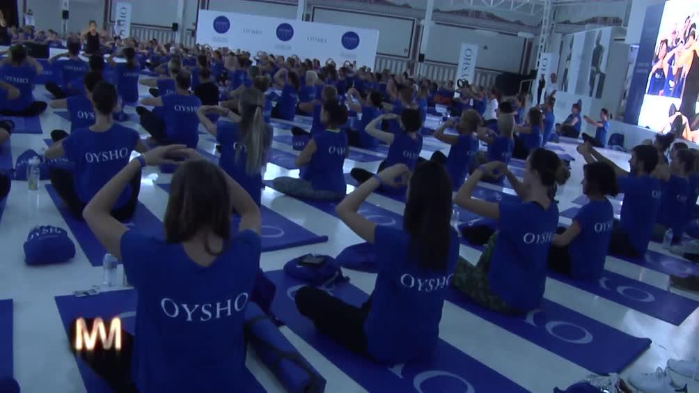 Oysho Yoga Day