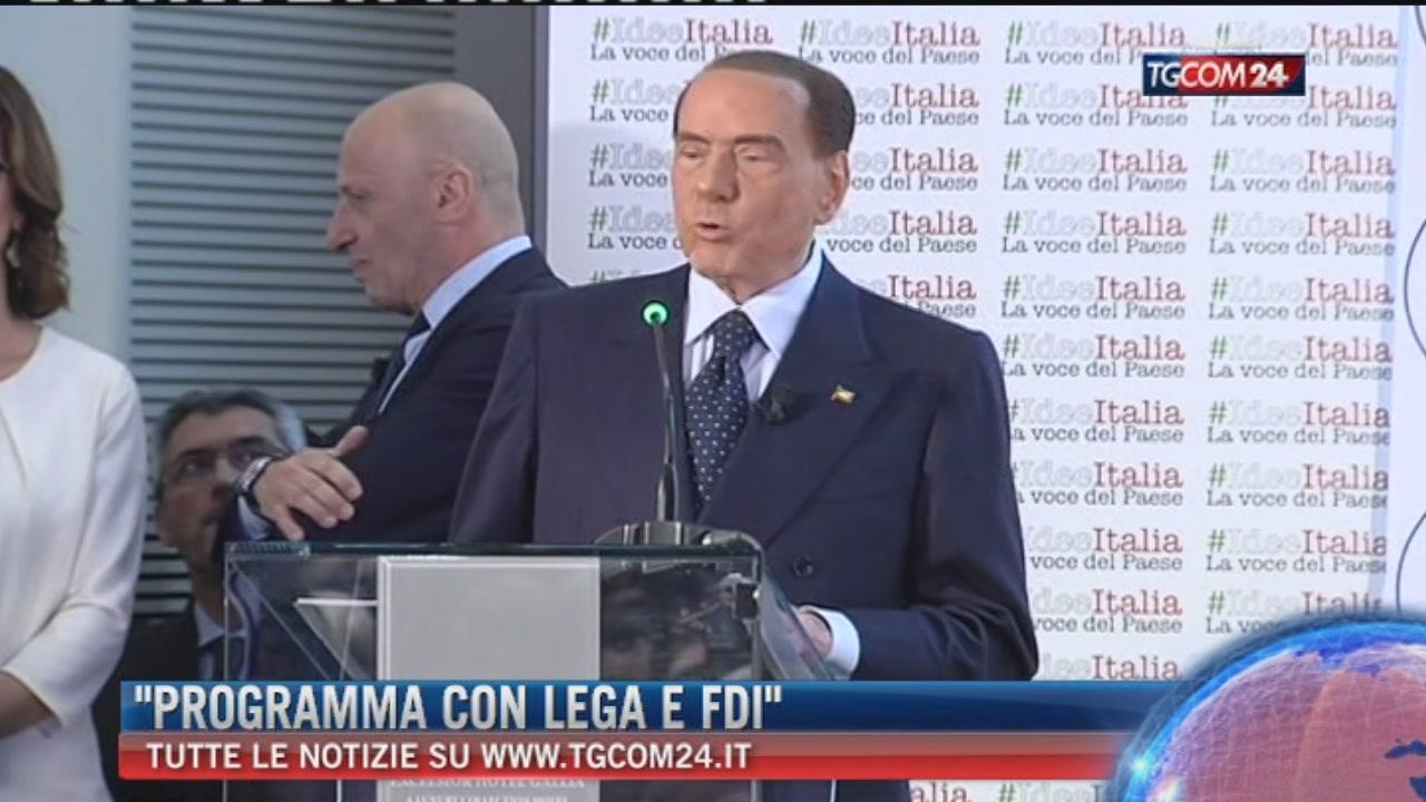 Breaking News dellel ore 14,00, Berlusconi: con Lega e FdI work in progress per definire programma