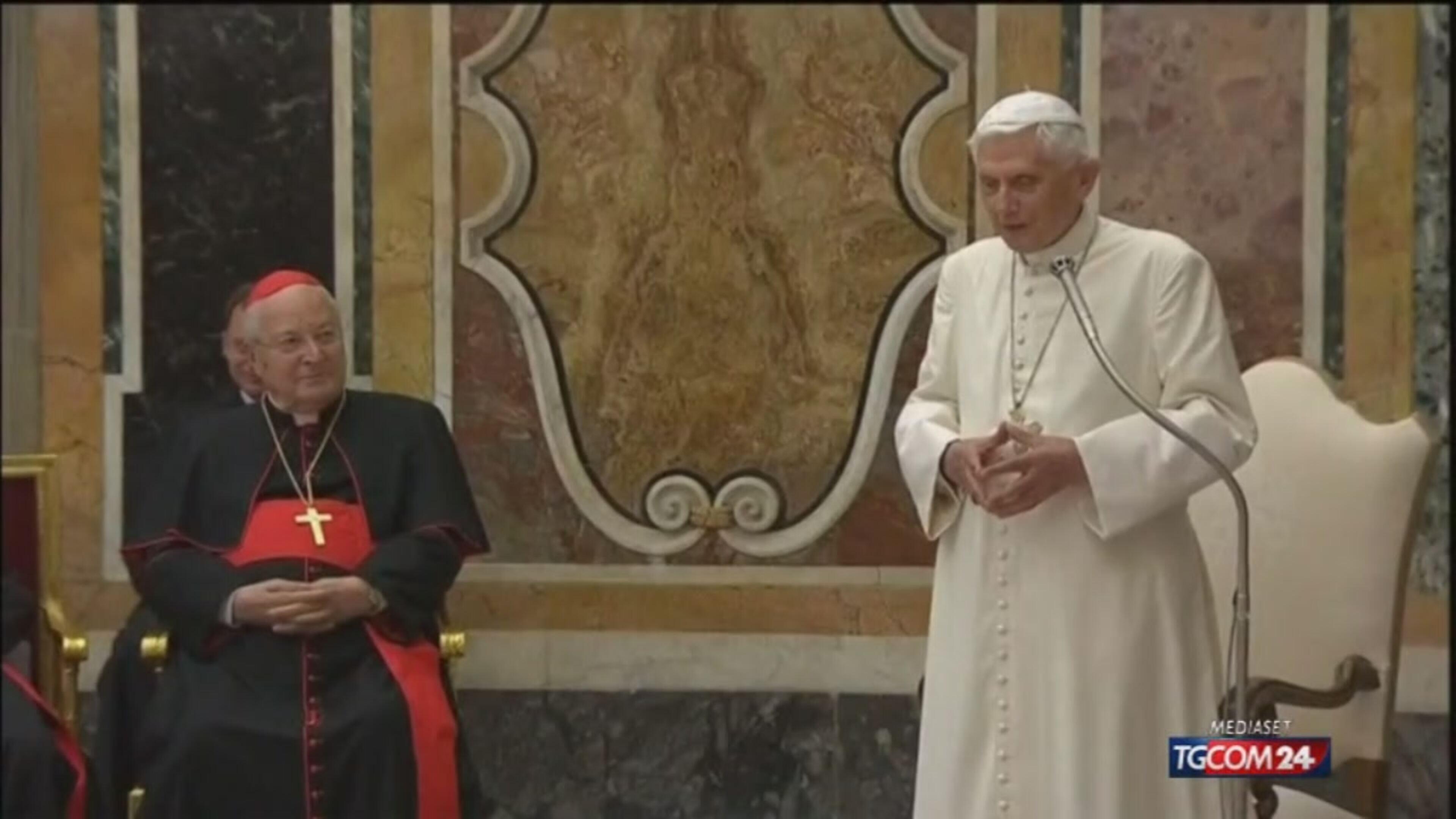 Il libro-confessione di Benedetto XVI