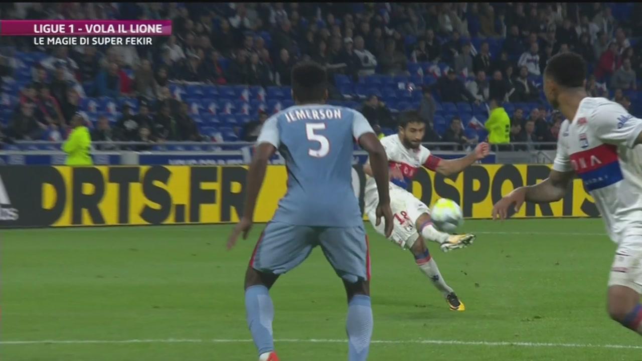 Ligue 1, colpo Lione col Monaco