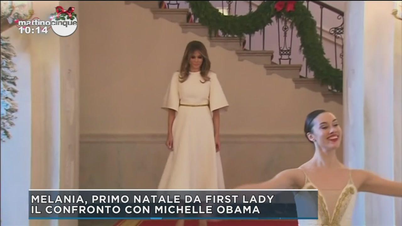 Il confronto tra Melania e Michelle