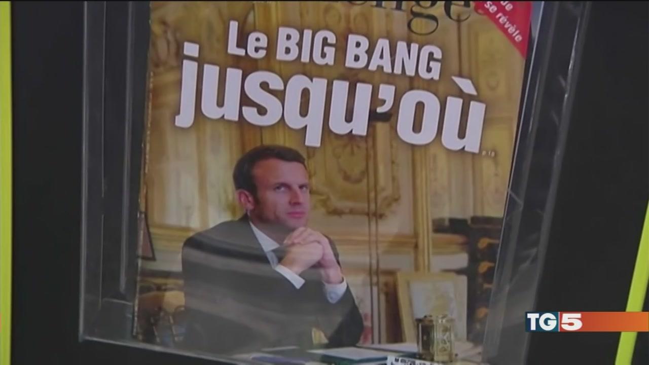 Francia: ondata Macron. GB: la May in difficoltà