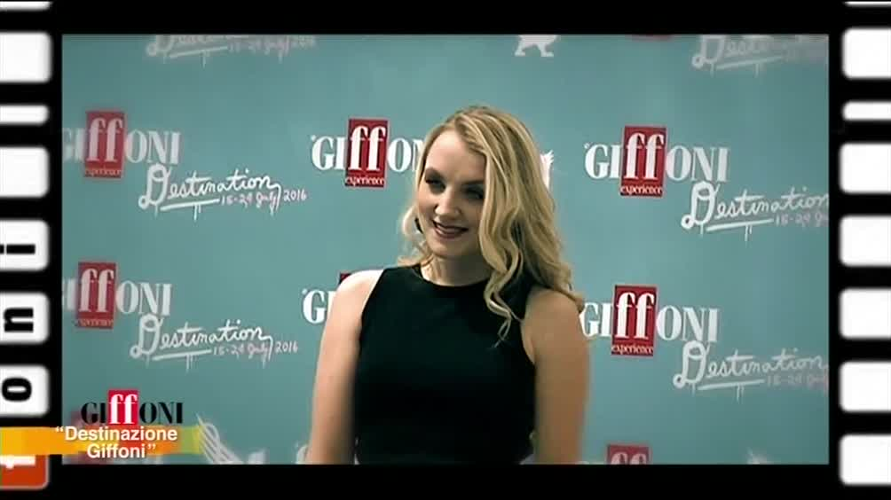 Giffoni: ospite Evanna Lynch, la Luna di Harry Potter