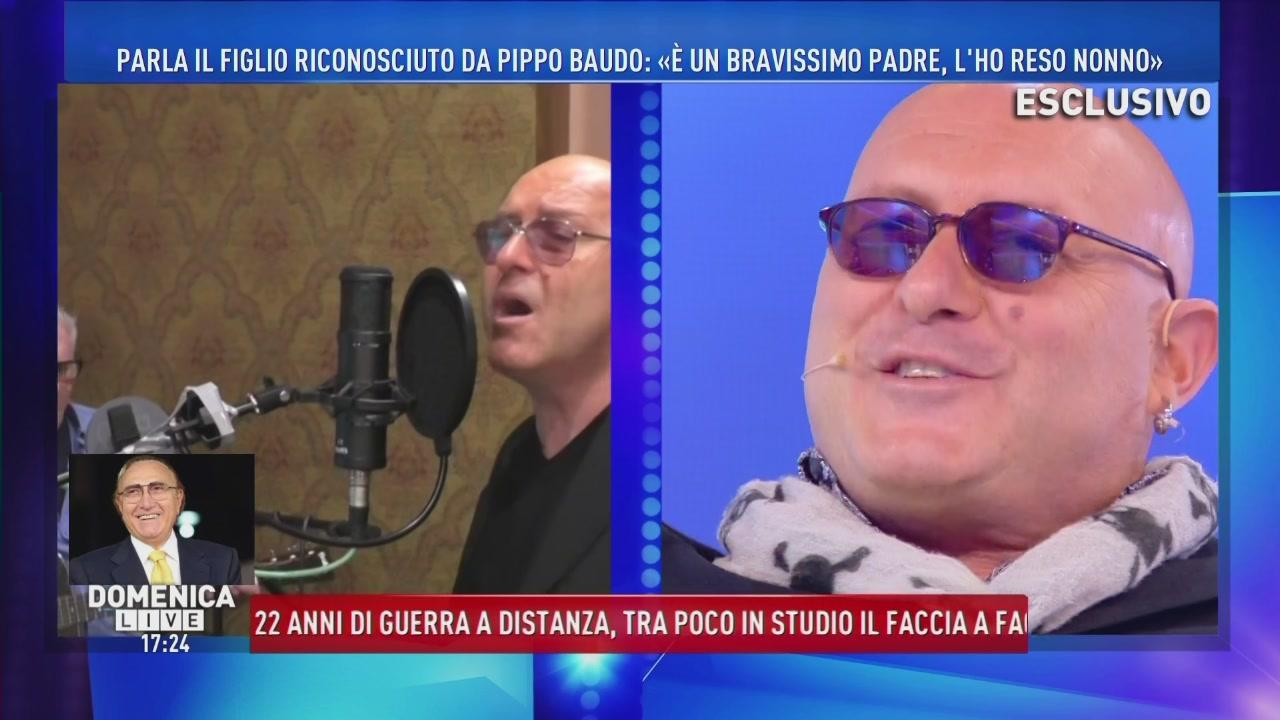 Alex Baudo: il cantante