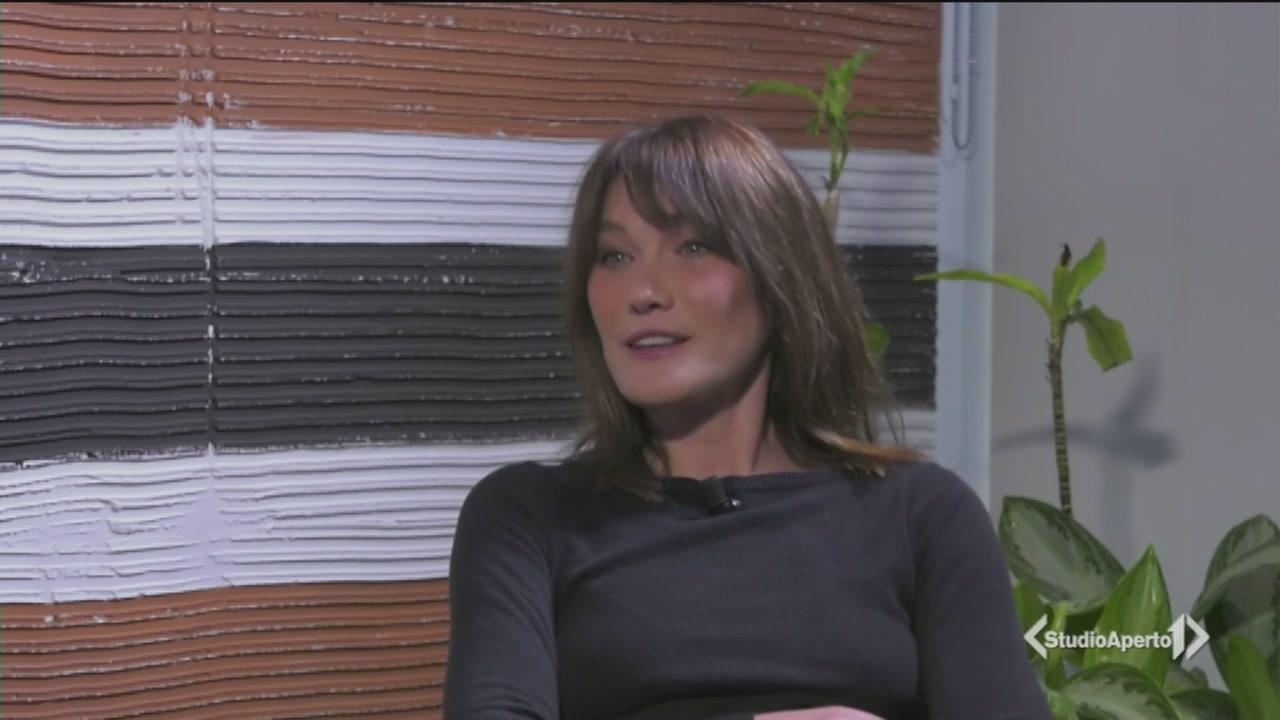 Il ritorno di Carla Bruni