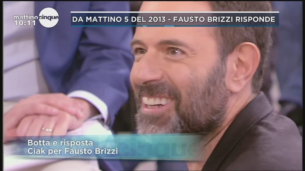 Fausto Brizzi a Mattino 5 del 2013