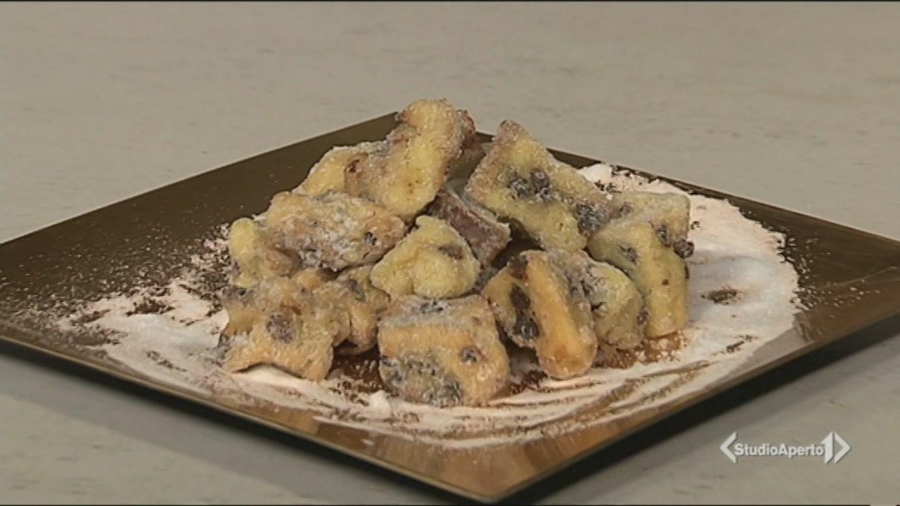 Frittelle di panettone
