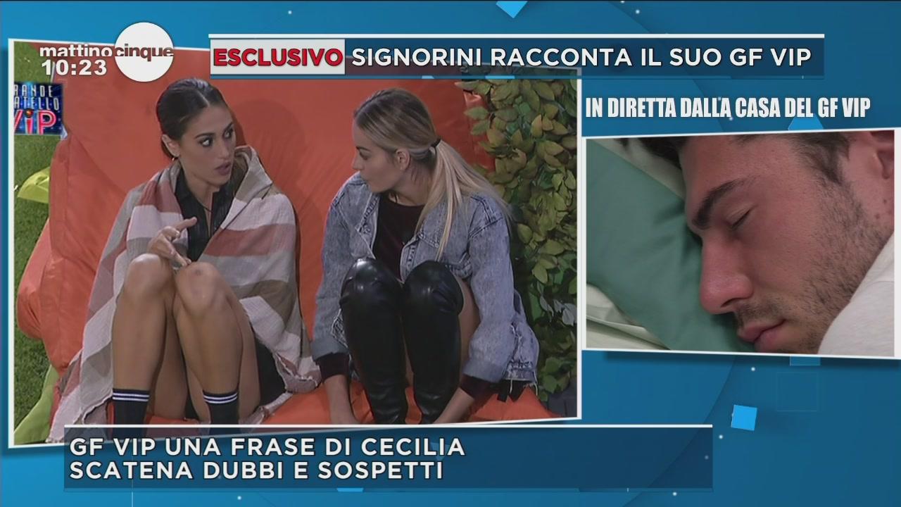GF Vip 2: Cecilia parla di Luca