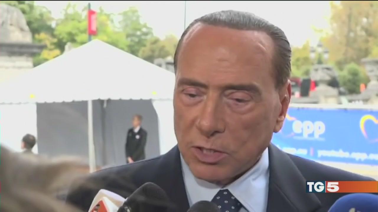 Berlusconi: solo noi garanzia di stabilità