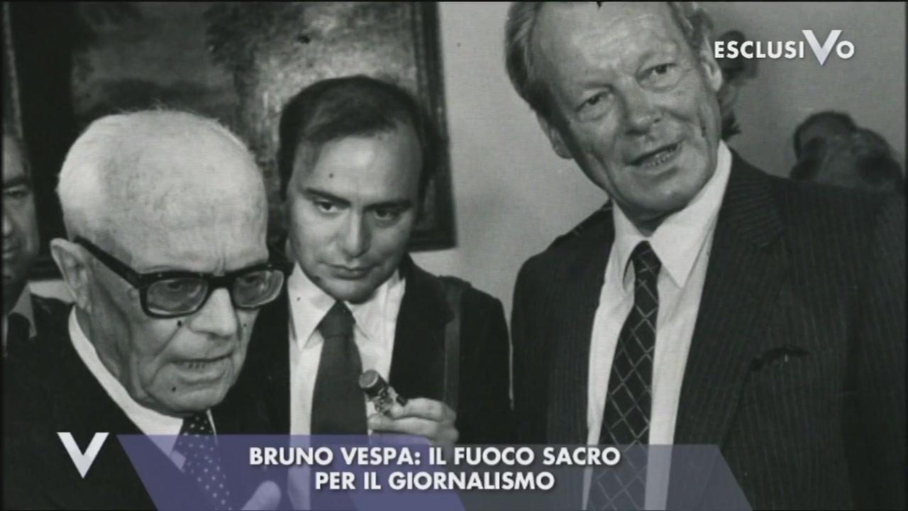La fulgida carriera di Bruno Vespa