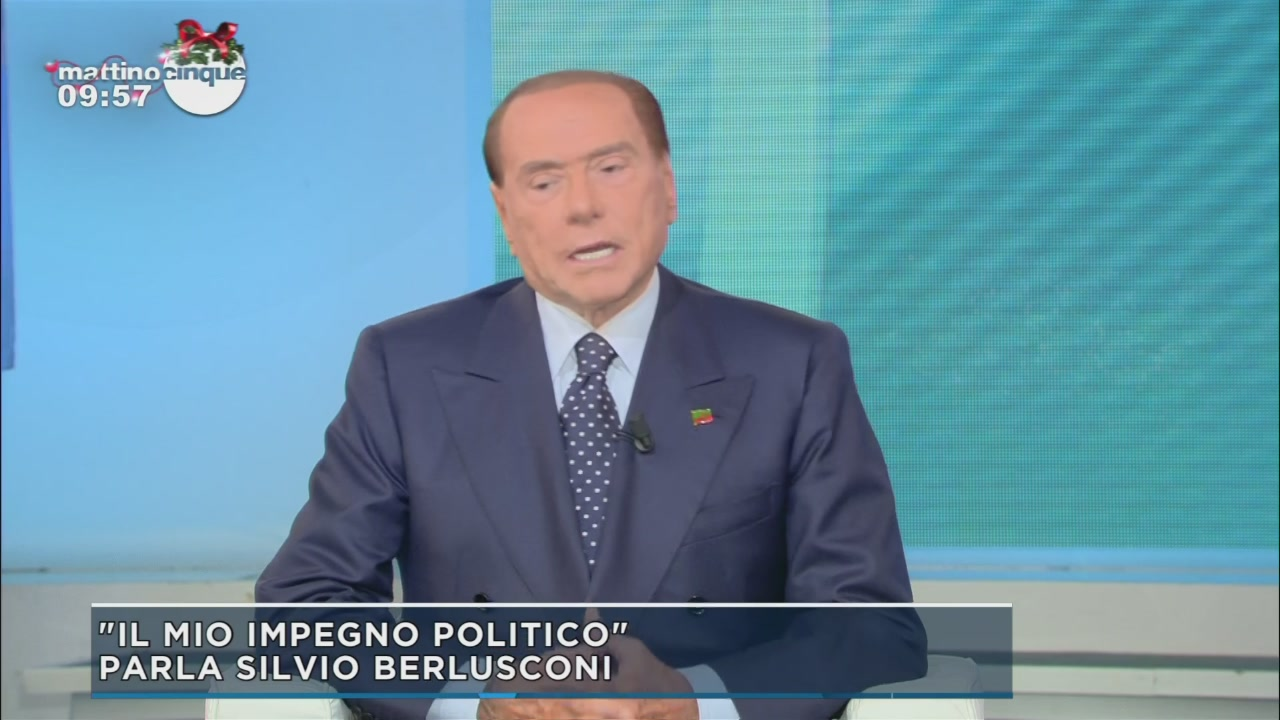Silvio Berlusconi: verso l'elezioni
