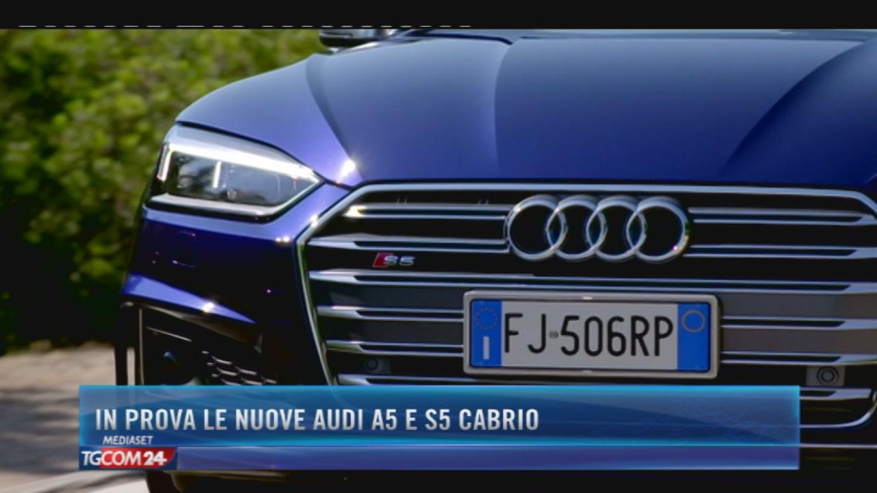 In prova le nuove Audi A5 e S5 Cabrio