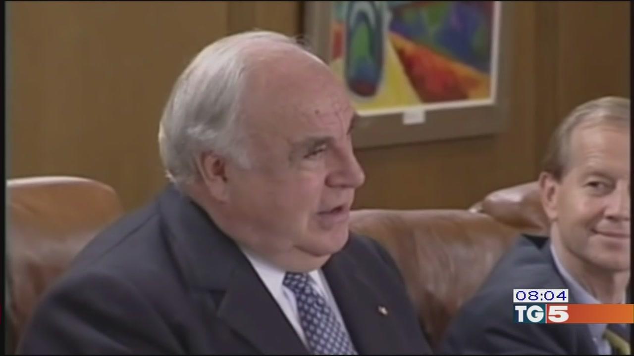 Addio a Kohl riunificò la Germania