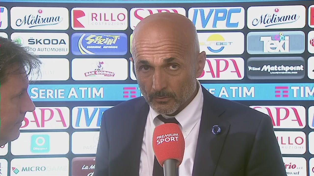 """Spalletti: """"In alto si sta bene"""""""