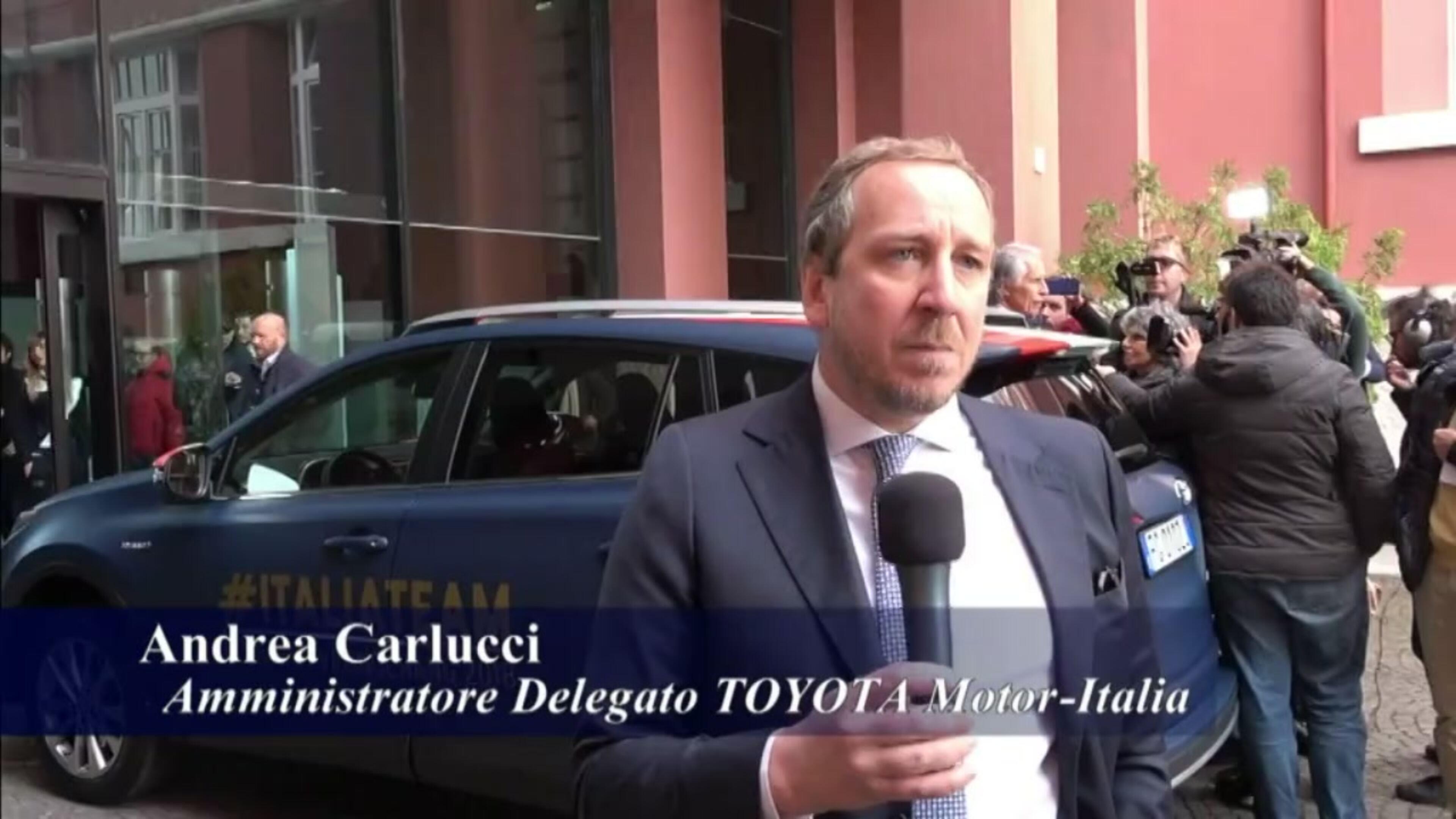 Toyota e CONI insieme per 8 anni