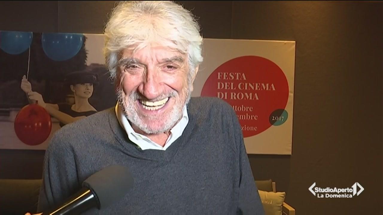 Gigi Proietti superstar del Festival del Cinema di Roma