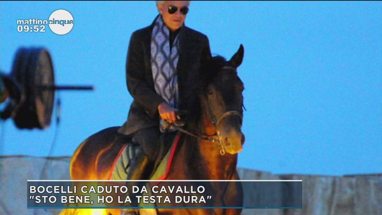 Paura per Bocelli