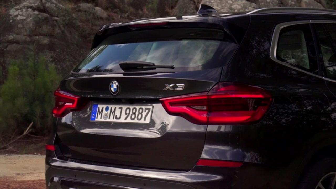 BMW nuova X3 in Portogallo