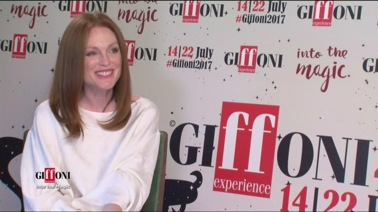 Julianne Moore conquista il Giffoni Film Festival