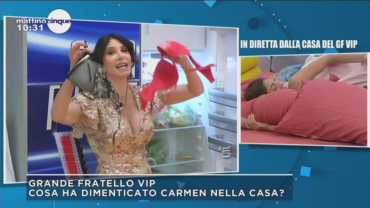 GF Vip 2: Carmen ritorna nella casa
