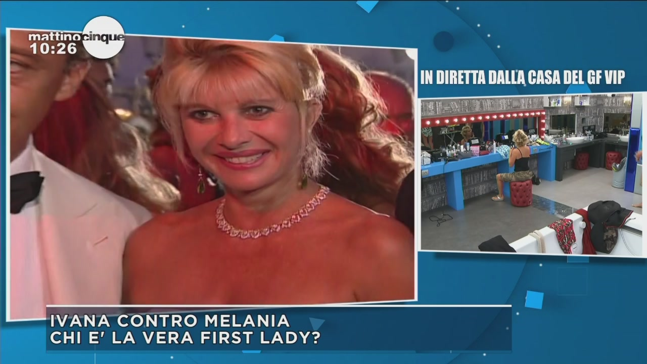Ivana contro Melania