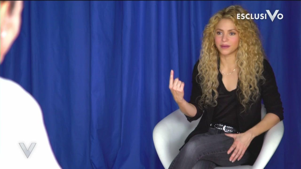 Una tenera confidenza di Shakira