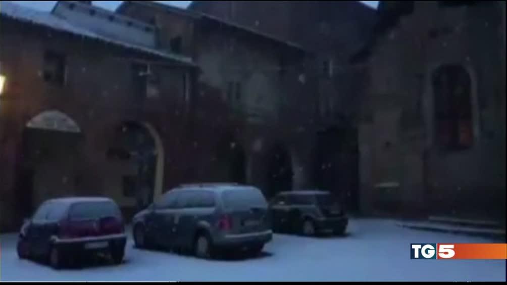 Allerta in Sardegna e prima neve al nord