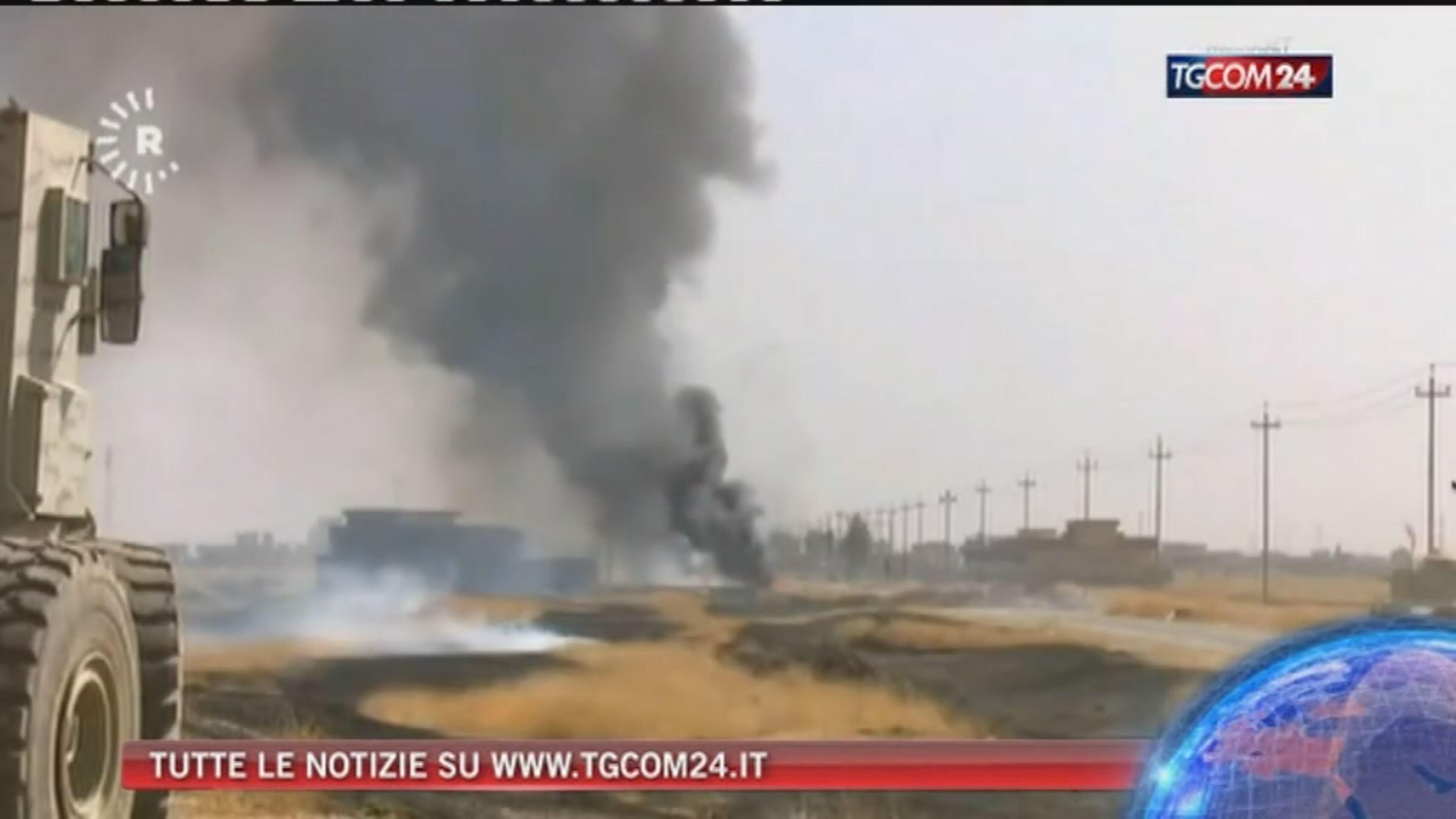 Assedio a Mosul: l'Isis impedisce ai civili di scappare Media: le forze speciali Usa sono già sul terreno