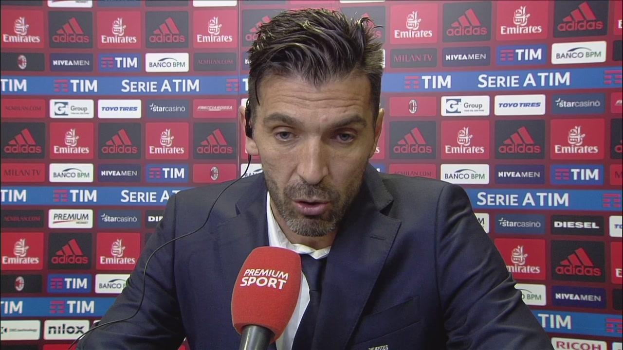 "Buffon ""canta"" con Gonzalo"