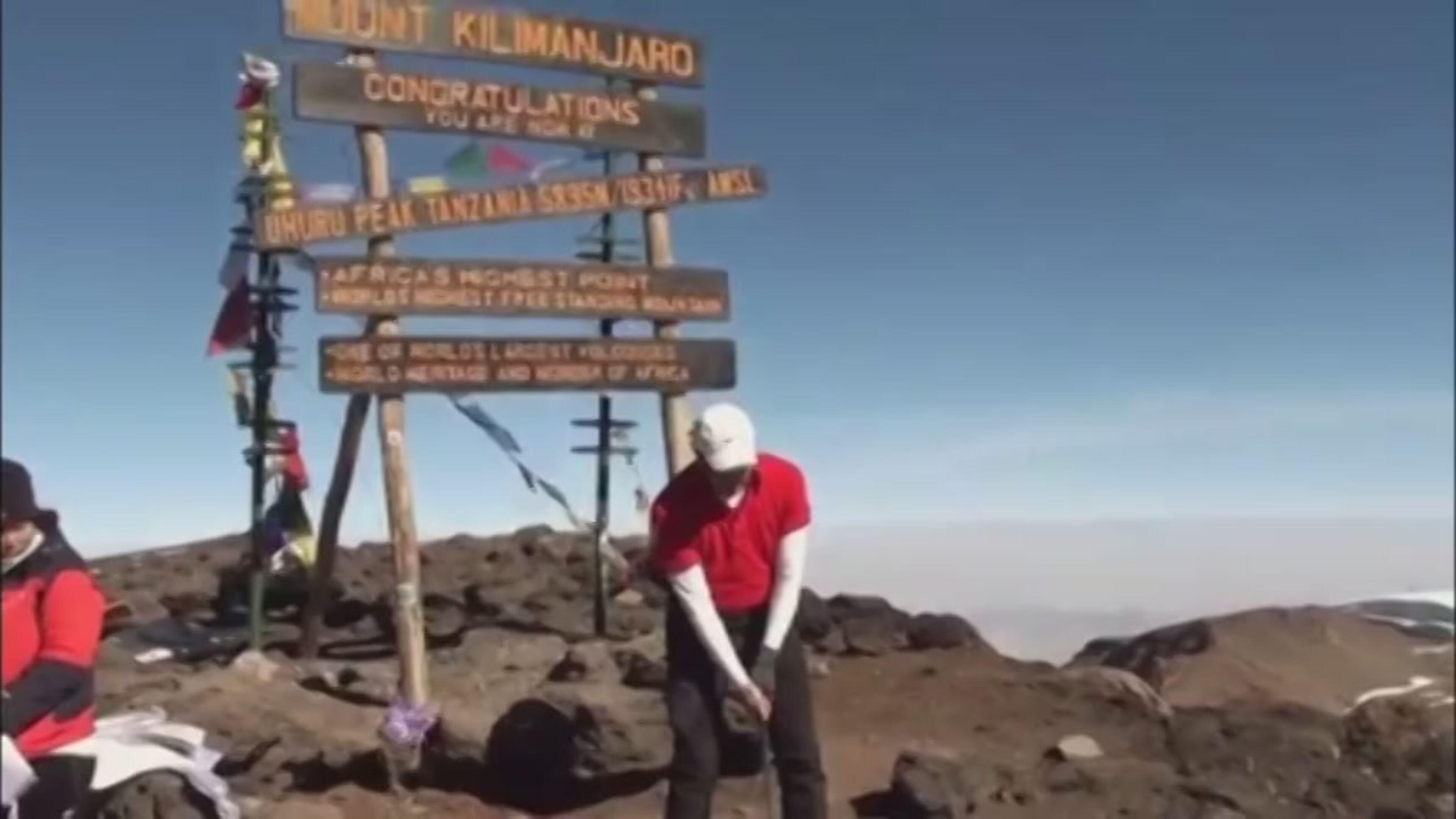 Sul Kilimangiaro per... giocare a golf
