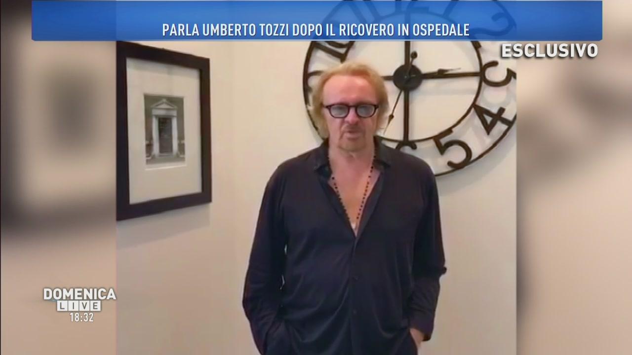 Scampato pericolo per Umberto Tozzi!