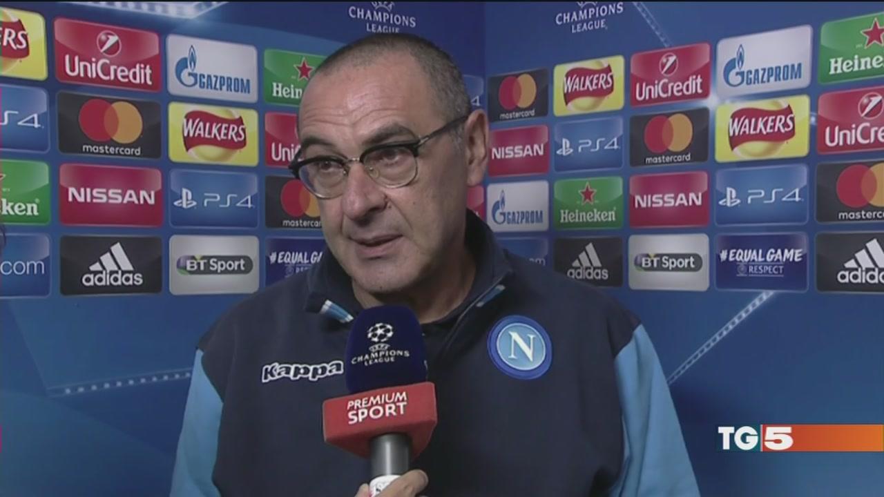 """Nella """"tana"""" del City il Napoli su Canale 5"""