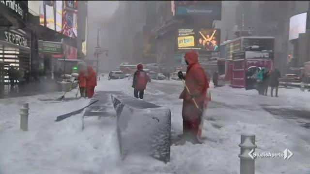 New York: ecco la bufera di neve