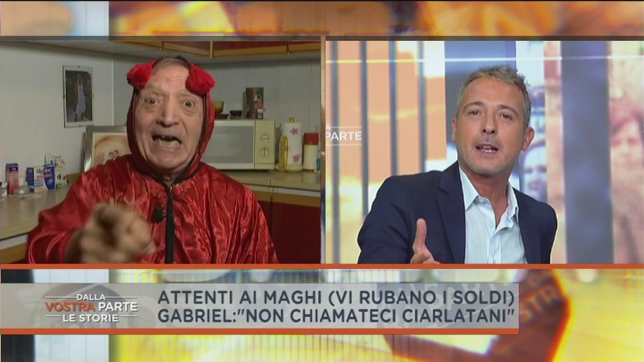 """Mago Gabriel contro i """"maghi"""" truffatori"""