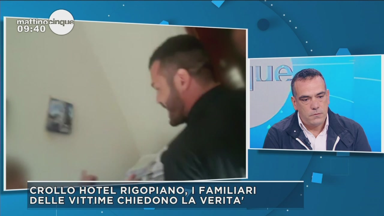 Tragedia Rigopiano: Parla Gianluca Tanda