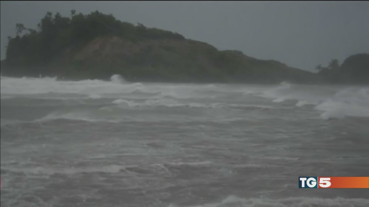 L'uragano Maria spaventa i Caraibi