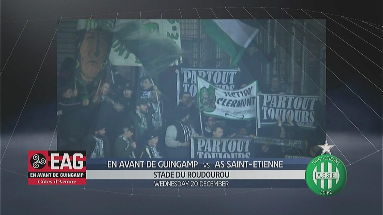Guingamp - Saint-Etienne 2-1