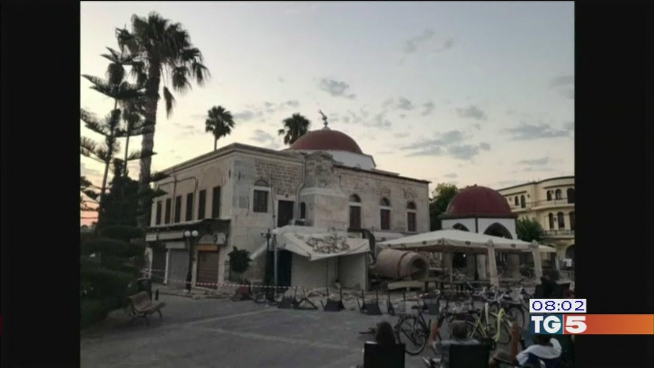 Scossa fortissma in Turchi e Grecia