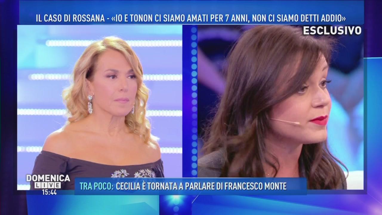 """Rossana: """"Io e Tonon ci siamo amati per 7 anni"""""""