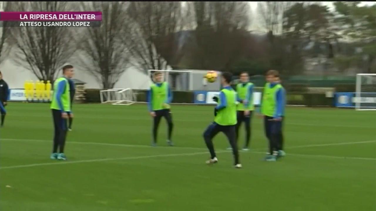 L'Inter aspetta Lisandro Lopez