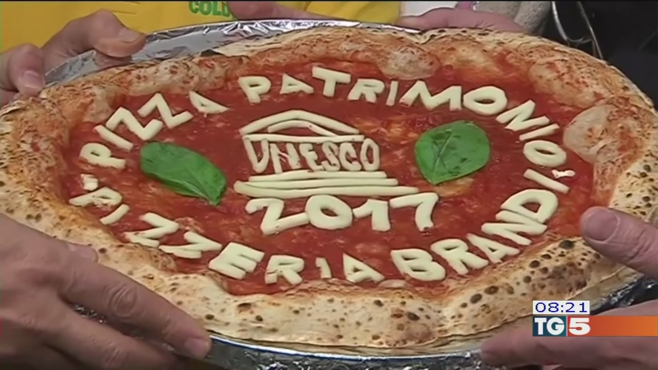 Ora la pizza è planetaria