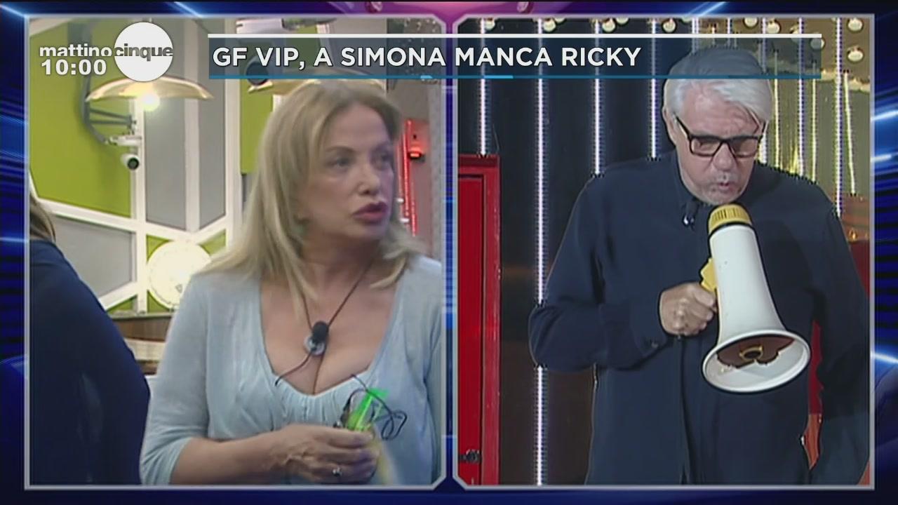 GF Vip 2: a Simona manca Ricky