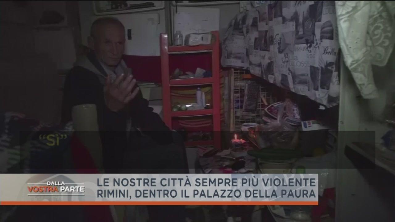 Rimini: la cittadella dei disperati