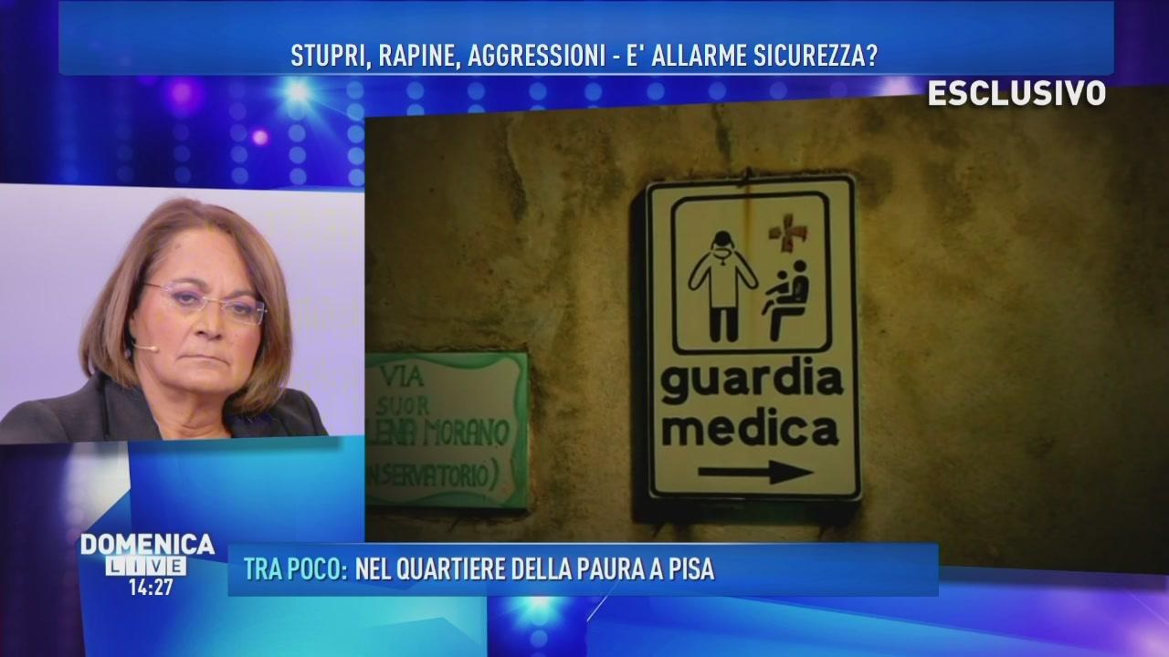 Dottoressa stuprata a Catania - Documento esclusivo
